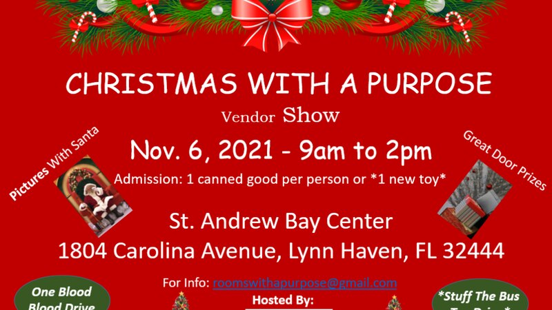 There will be about 40 vendors with plenty of items to shop for.