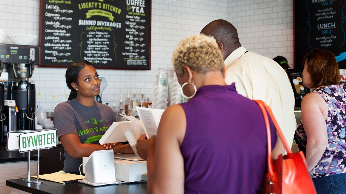 Liberty's Kitchen trains young adults who face extraordinary challenges to access employment...