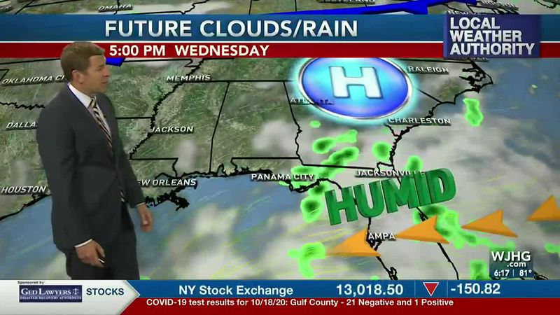 Warm and humid weather is in the forecast this week