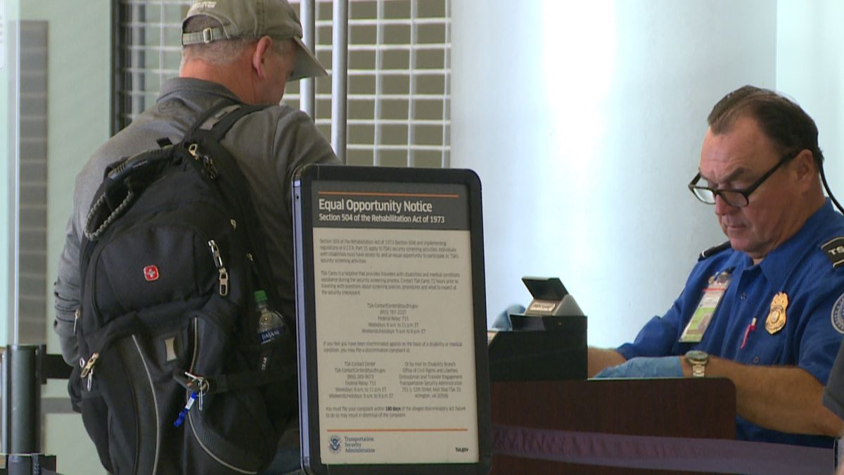 Officials say they're expecting a busy holiday season. (WJHG/WECP)