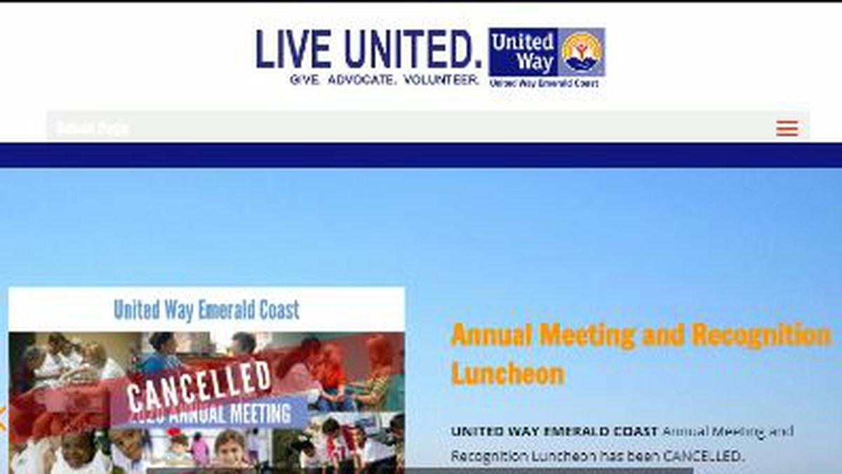United Way Emerald Coast donated money in its third phase to help local nonprofits (WJHG/WECP)
