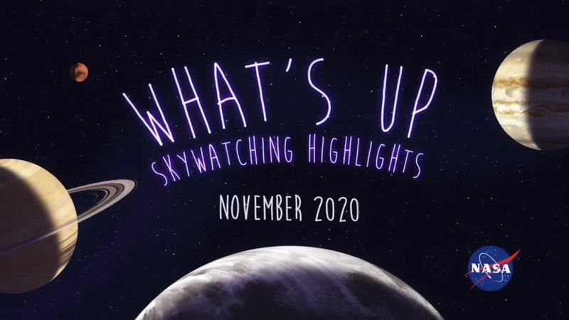 What's Up for November? Seeking out the Pleiades, the Moon with Jupiter and Saturn, and...