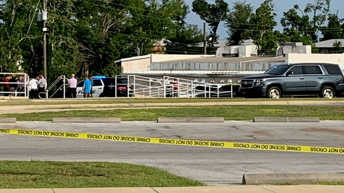 Law enforcement responded to a reported shooting near the Bay County Government Center Thursday...