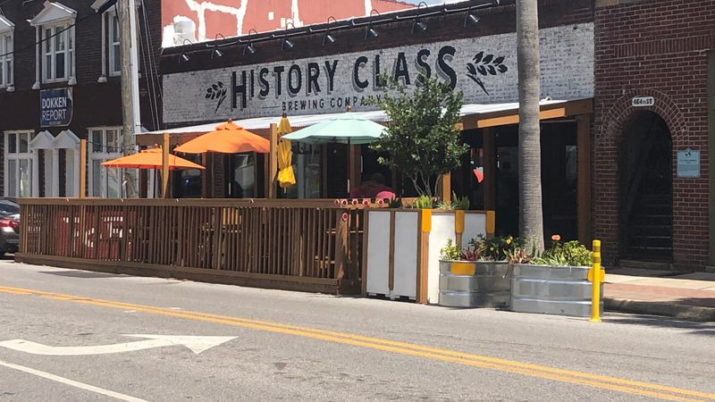 History Class Brewing Company sits in the heart of downtown Panama City.