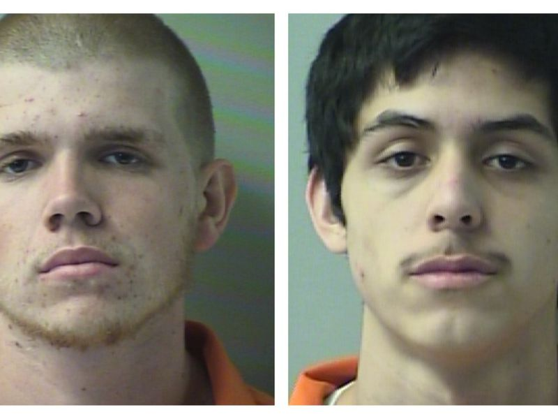Two 18-year-old teens have been arrested in Okaloosa County after sheriff's deputies said they...