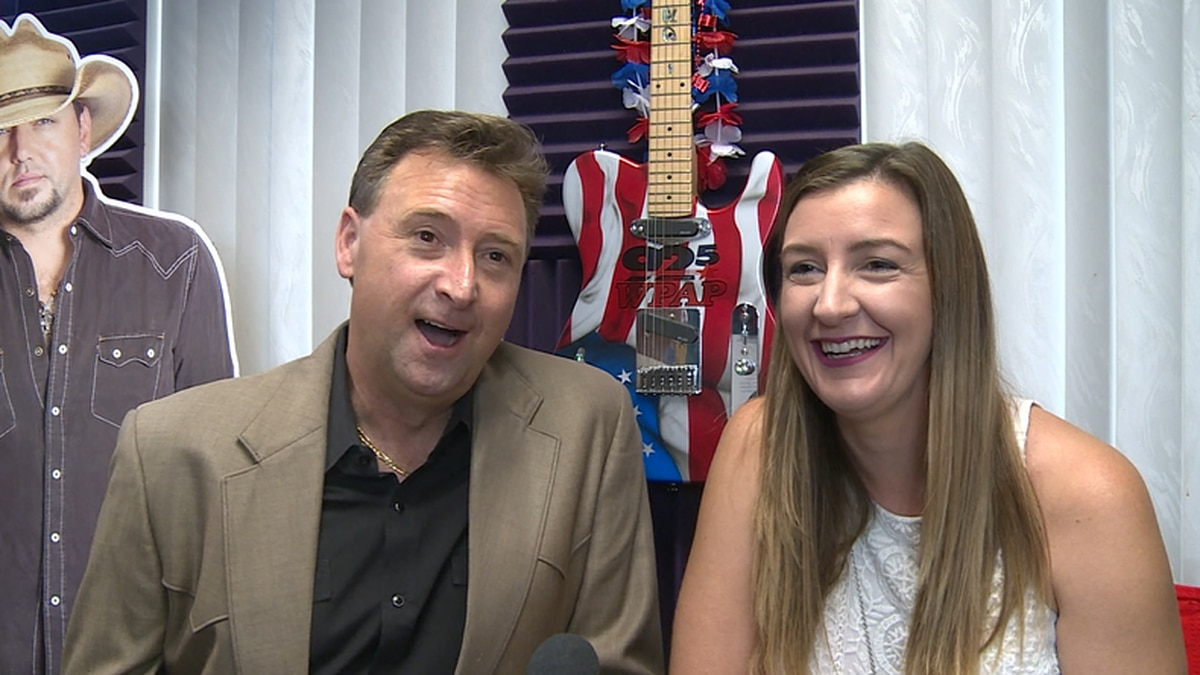 Dr. Shane and Tess win Broadcast Personality of the Year from the County Music Award Association. (WJHG/WECP)