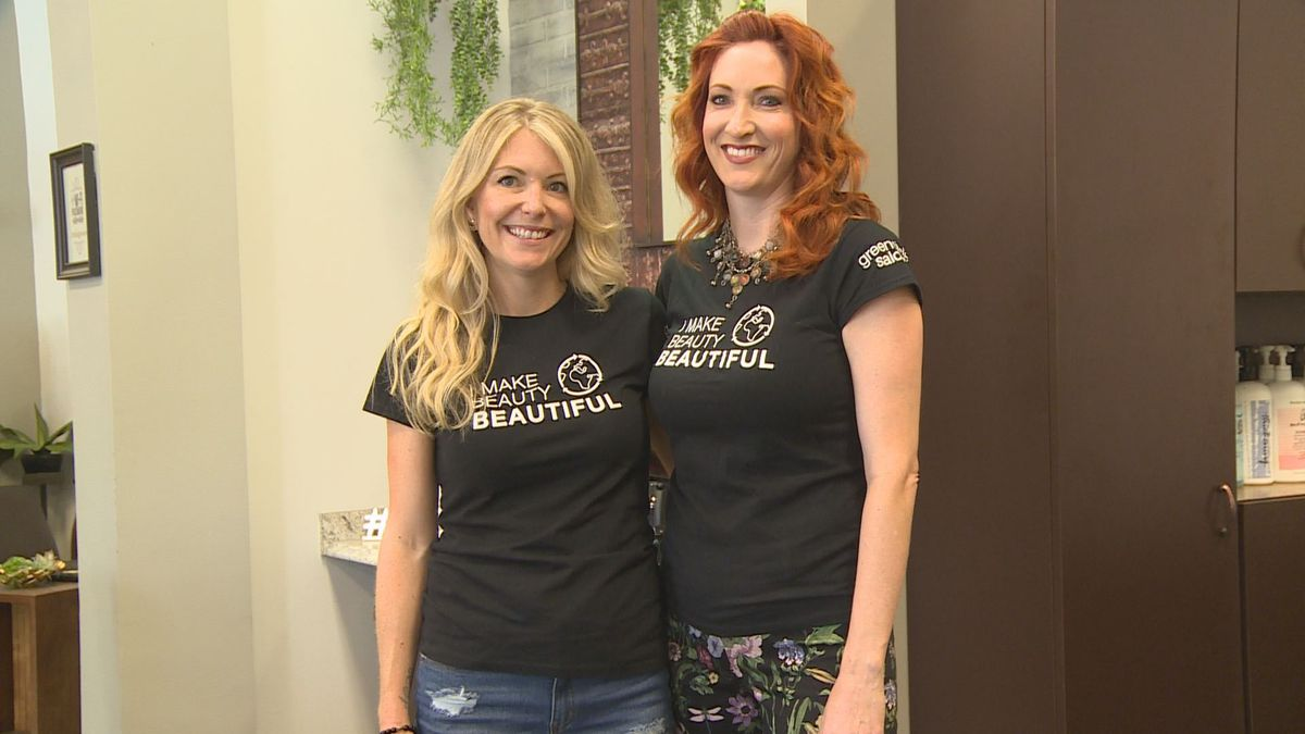 The owners of Indulgence Salon say they hope their transition to being a green salon encourages other salons in the area to do the same. (WJHG/WECP)