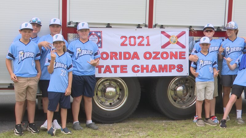 The boys' excitement was clear before the parade honored their State Championship and trip to...