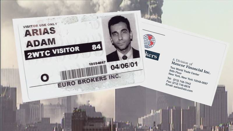 Adam Arias was working in the south tower when the attacks occurred, describing the chaos he...
