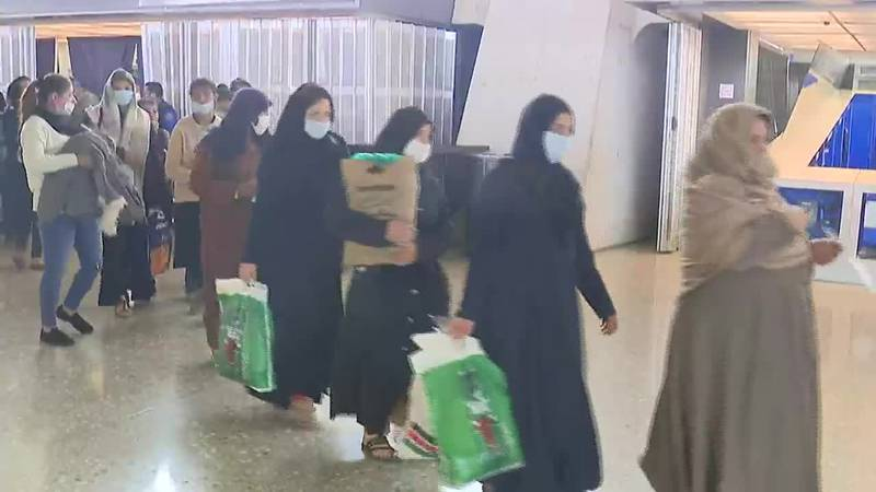The cases are being reported in the wake of the U.S. halting in-bound flights of Afghan...