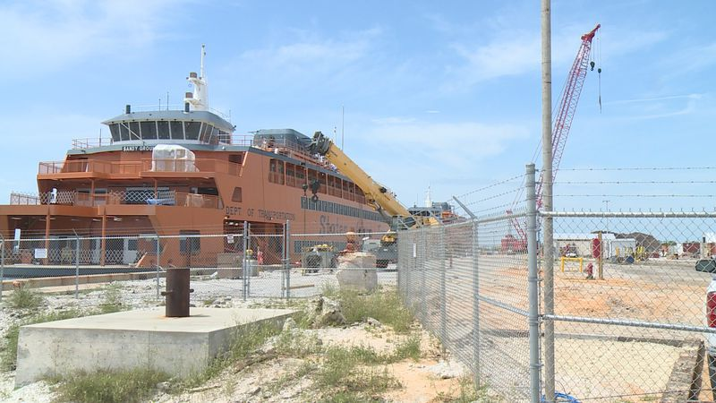 More ferries are being worked on at the Port St. Joe Shipyard