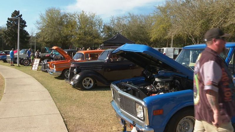 The Emerald Coast Cruizin officially kicked off on Wednesday