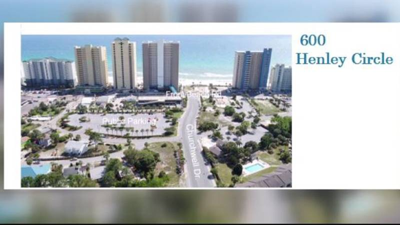 Reserved beach parking pass spots in Panama City Beach will be located in lots on Front Beach...
