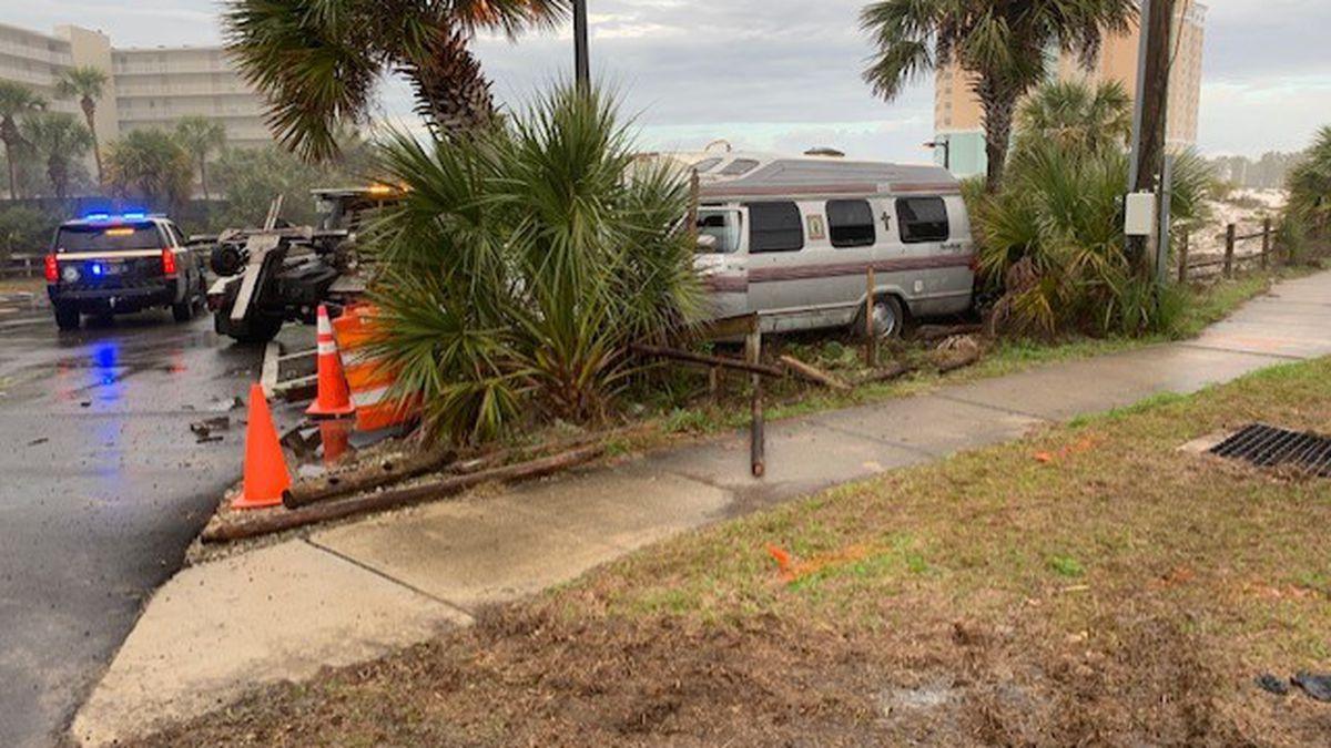 Florida Highway Patrol is investigating a fatal crash at Thomas Drive and Walnut Street.