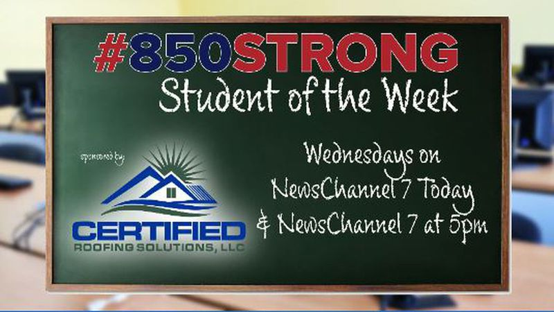 850 Strong Student of the Week