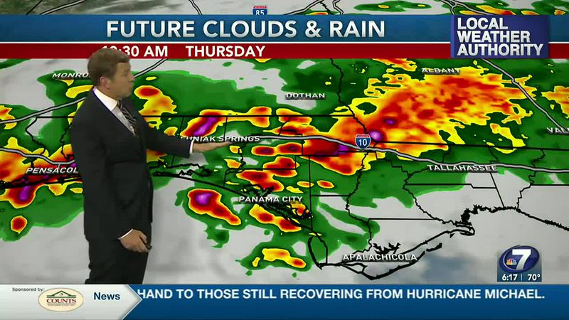 More storms are in the forecast for Thursday.