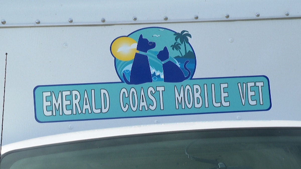 The Emerald Coast Mobile Vet routinely serves the areas of Panama City to Miramar Beach and even areas of Destin. (WJHG/WECP)