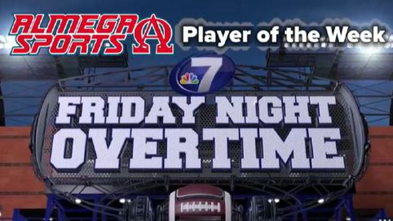 Alex Valdez is this week's Player of the Week. (WJHG/WECP)