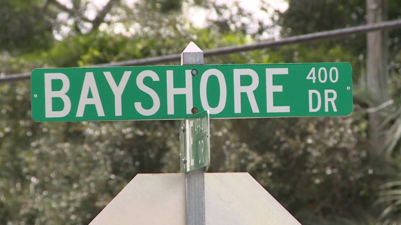 The rezoning plans for a plot of land off of Bayshore Drive were pulled Friday.