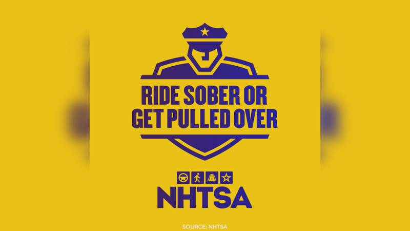 """The national """"drive sober or get pulled over"""" campaign runs through the holiday weekend."""