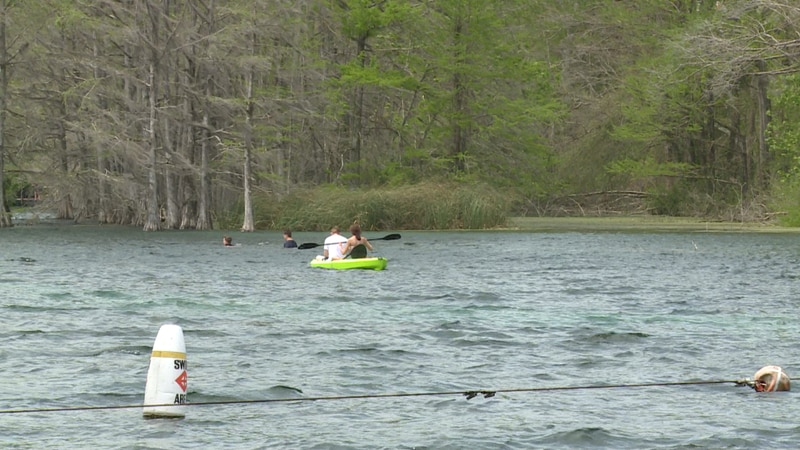On Saturday, Blue Springs Park opened for its first-ever spring season.