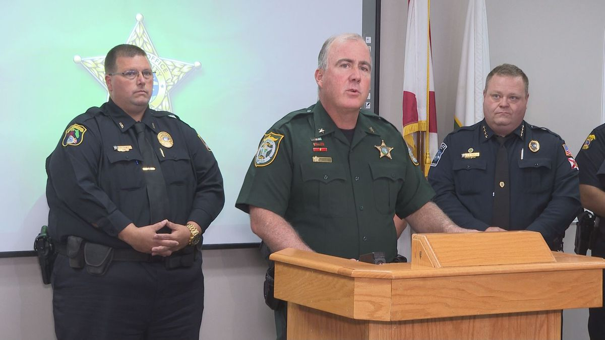 the Bay County Sheriff's Office and other local law-enforcement agencies met with the...