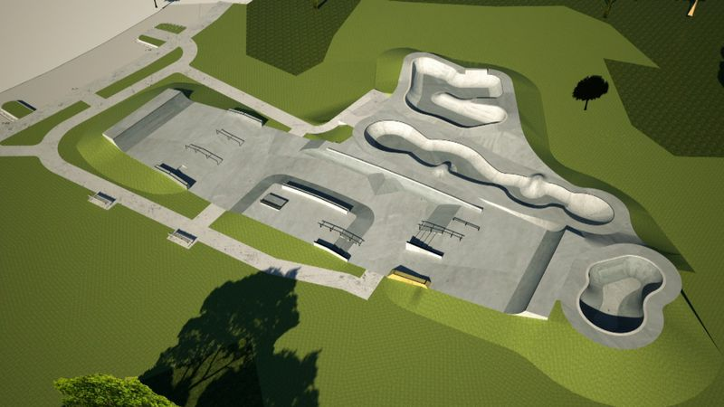 The Bay County Skatepark's designs were approved Tuesday.