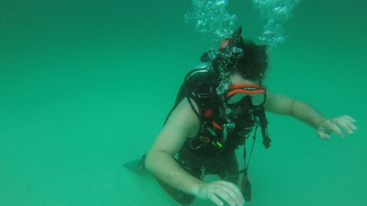 Students at the Ohana Institute earn their underwater diving certification as part of the school's curriculum. (WJHG/WECP)