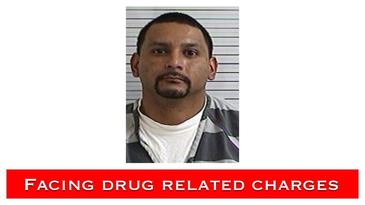 Amador Mendez, Jr. is facing multiple drug related charges and is booked in the Bay County...