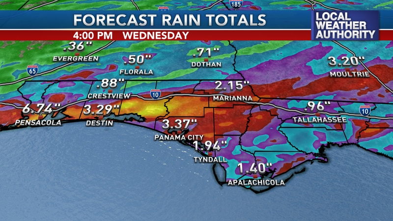 More heavy rain is in the forecast