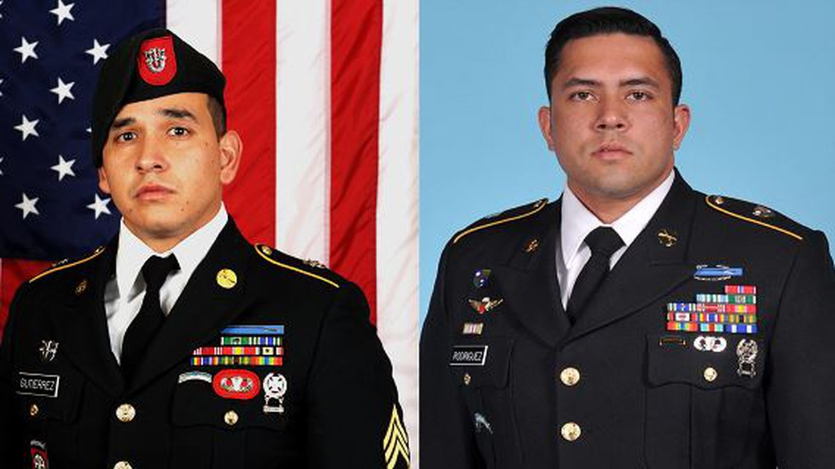 They were both assigned to 3rd Battalion, 7th Special Forces Group (Airborne), Eglin Air Force...
