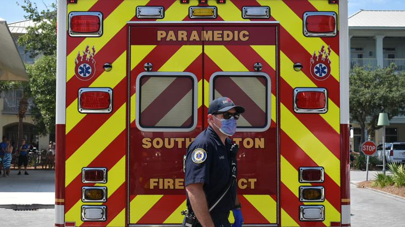 SWFD beach units were first on-scene to treat the victim of a shark attack.
