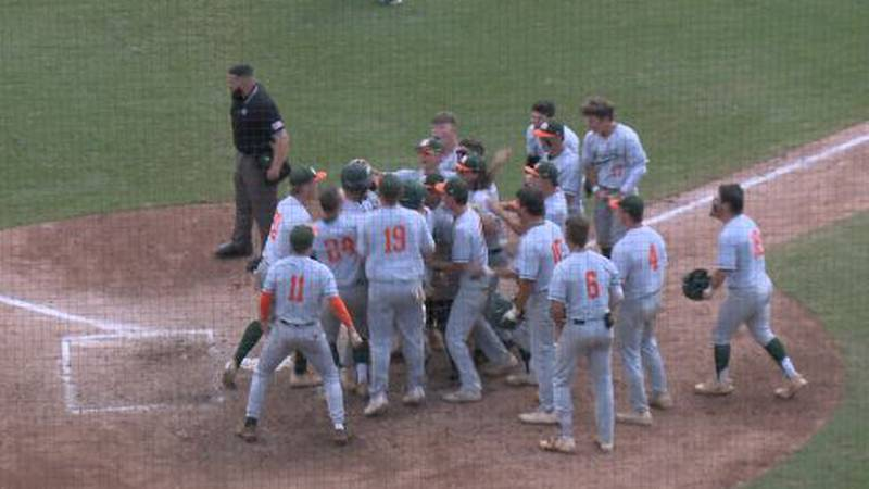 Mosley baseball takes down Jefferson to advance to the 5A State Championship game.