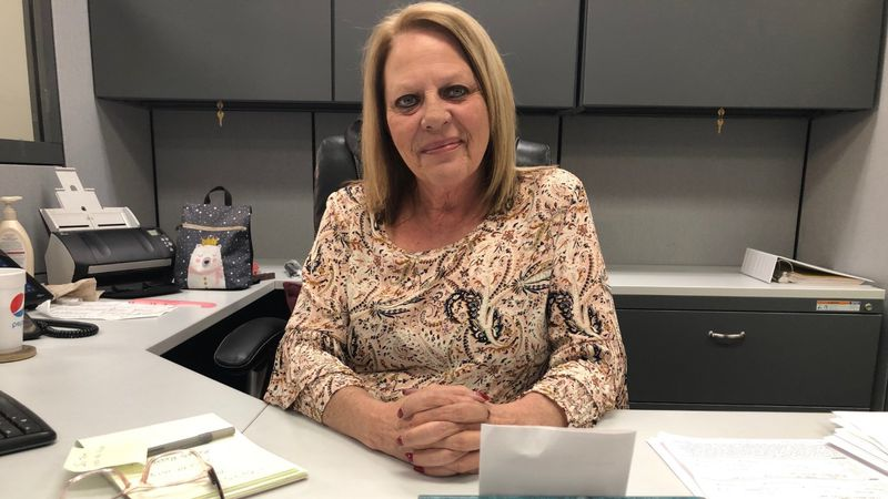 Becky Johns is retiring from the Bay County Sheriff's Office after 35 years. But vows to stay...