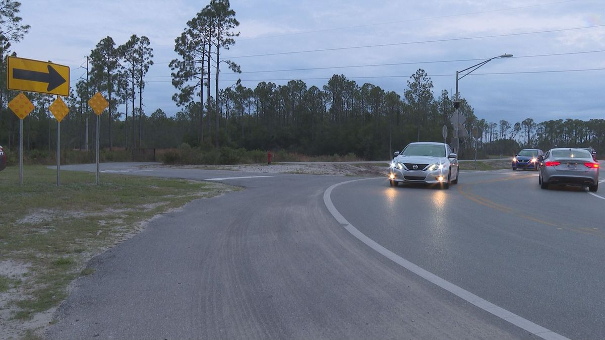 """Construction of """"Back"""" Back Beach Road could finally get underway. (WJHG/WECP)"""