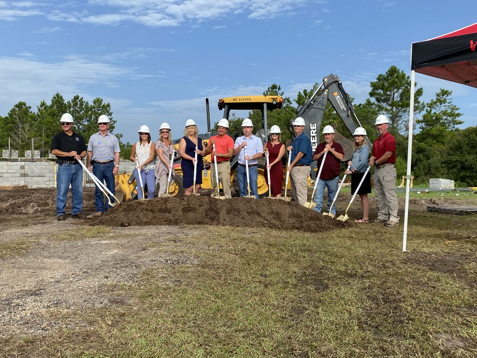 Thursday morning, school leaders and more gathered at Franklin County High School to break ground on a new welding facility.