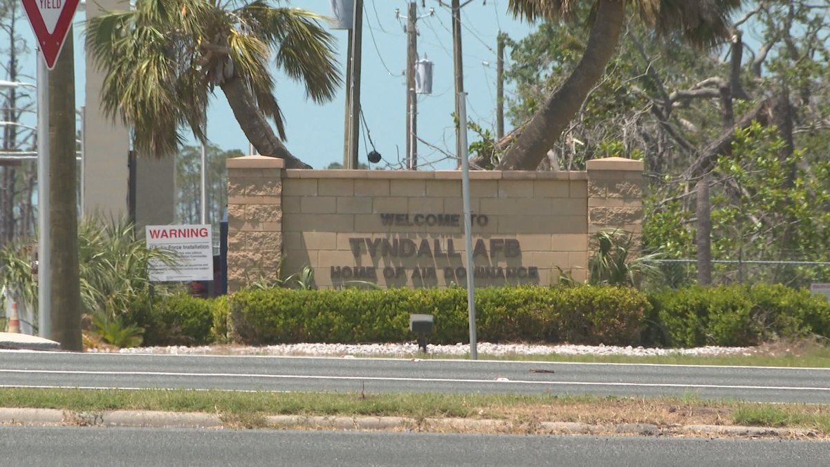Officials say they plan to demolish 50% of Tyndall's buildings. (WJHG/WECP)