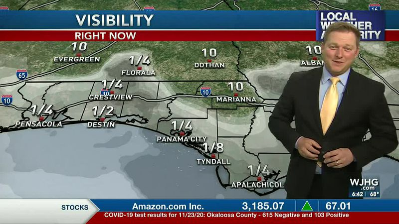 Meteorologist Ryan Michaels talking about this morning's foggy conditions.