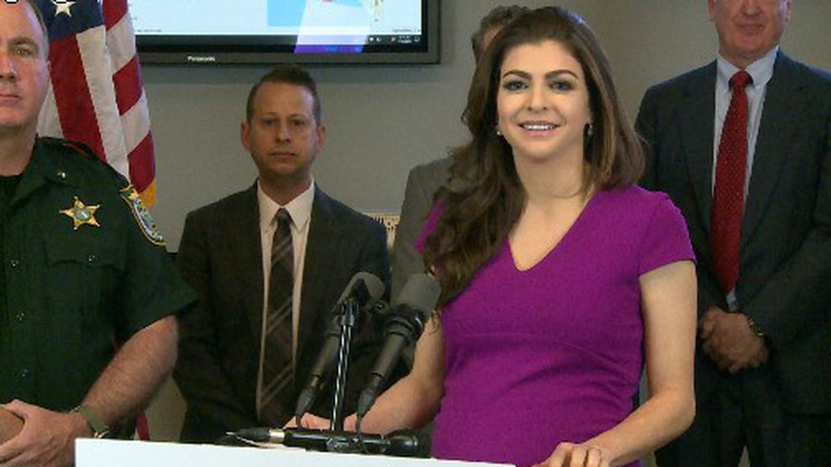 Florida's First Lady announced $690,000 will go toward mental health care. (WJHG/WECP)
