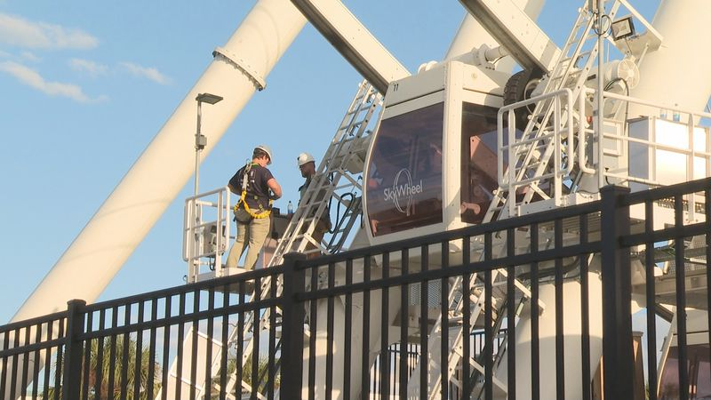 It's been almost two weeks since six vacationers were stuck at the top of the Pier Park...