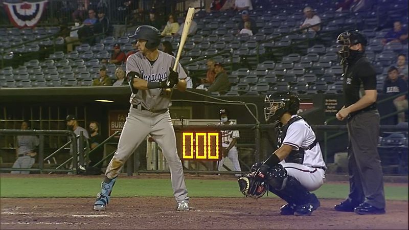 Mosley alum opens season with two hits, RBI