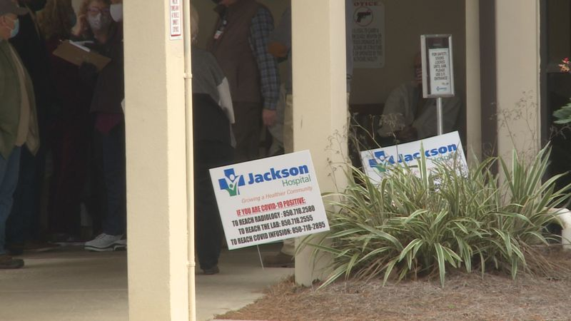Police say there are people posing as healthcare workers in Jackson County asking for personal...