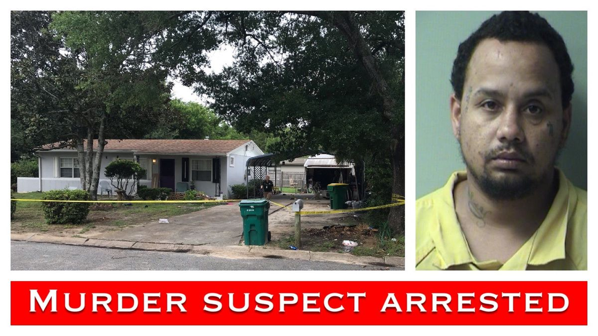 Okaloosa County Sheriff's Deputies arrested Eugene Bradley in connection with a murder from July. (WJHG/WECP)