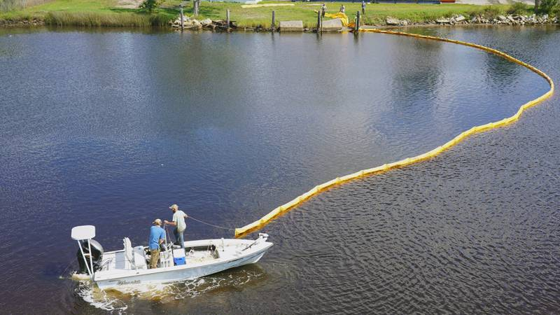 The failure occurred at approximately 9:30 A.M. and led to the discharge of about 160,000...