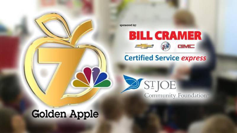 This week's Golden Apple winner is Sandra Wolfrom. (WJHG/WECP)