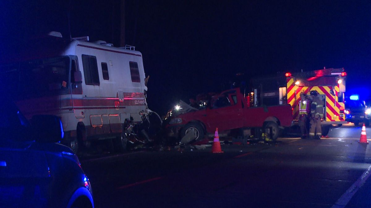 One person is dead after a crash in Youngstown Tuesday according to FHP. (WJHG/WECP)