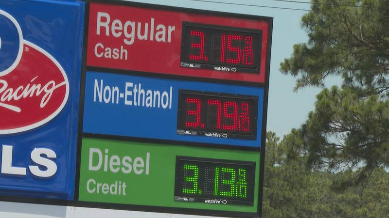 Gas prices are the most expensive now than they've been since November 2014.