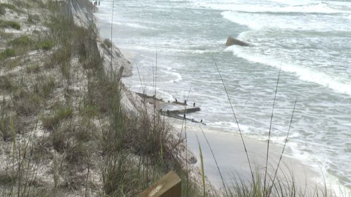 Bay County beaches will undergo repairs in the late fall due to erosion caused by Hurricane Michael. (WJHG/WECP)