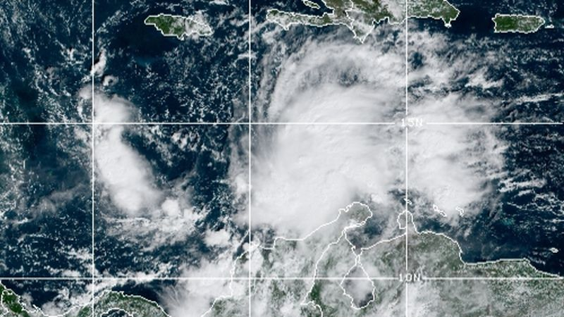 Tropical Storm Iota is brewing in the Caribbean Sea and threatening a second tropical strike...