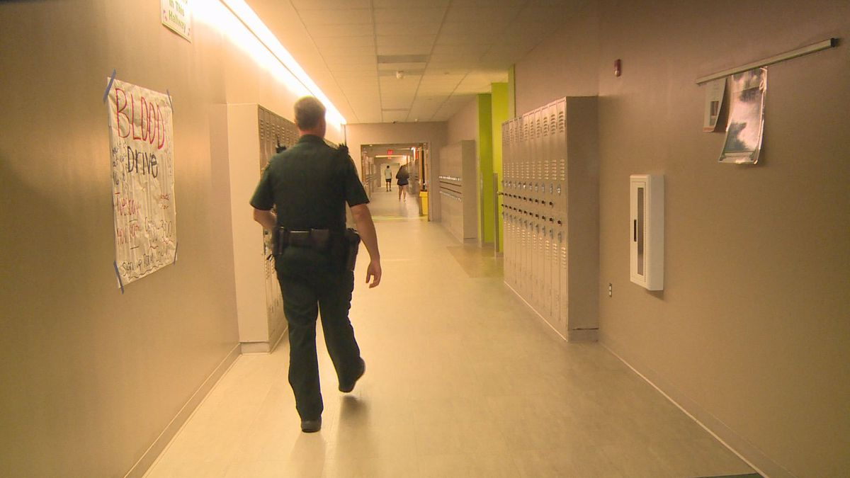 Student Resource Deputies interact with students on a daily basis and build relationships with them. (WJHG/WECP)